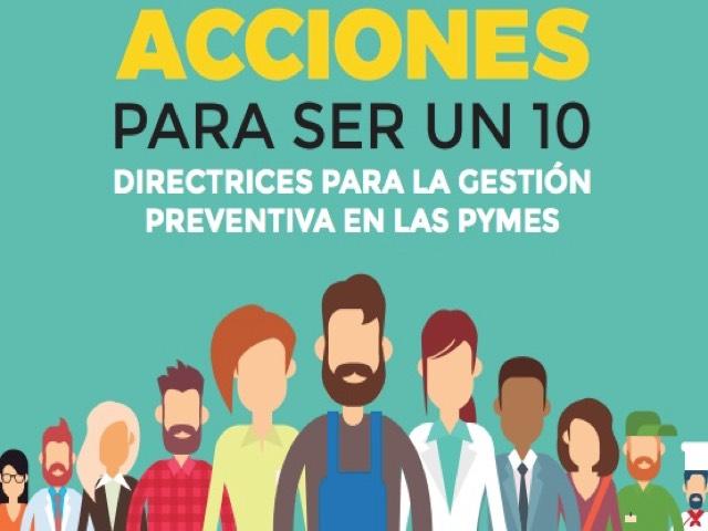 """Guía """"Directrices para la gestión preventiva en las PYMES"""""""